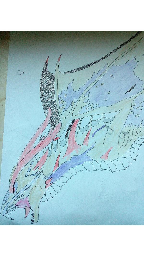Eclipse forme dragon d'or by AlienaMoneroe