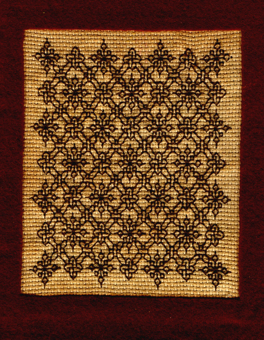 Arabesque pattern final by superduper-hedgehog
