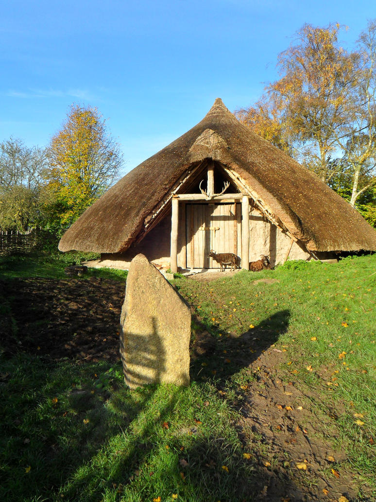 Iron age roundhouse by Iglybo