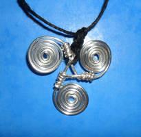 Newgrange Spiral Pendant by Iglybo
