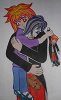 Loki Hel hug by Iglybo