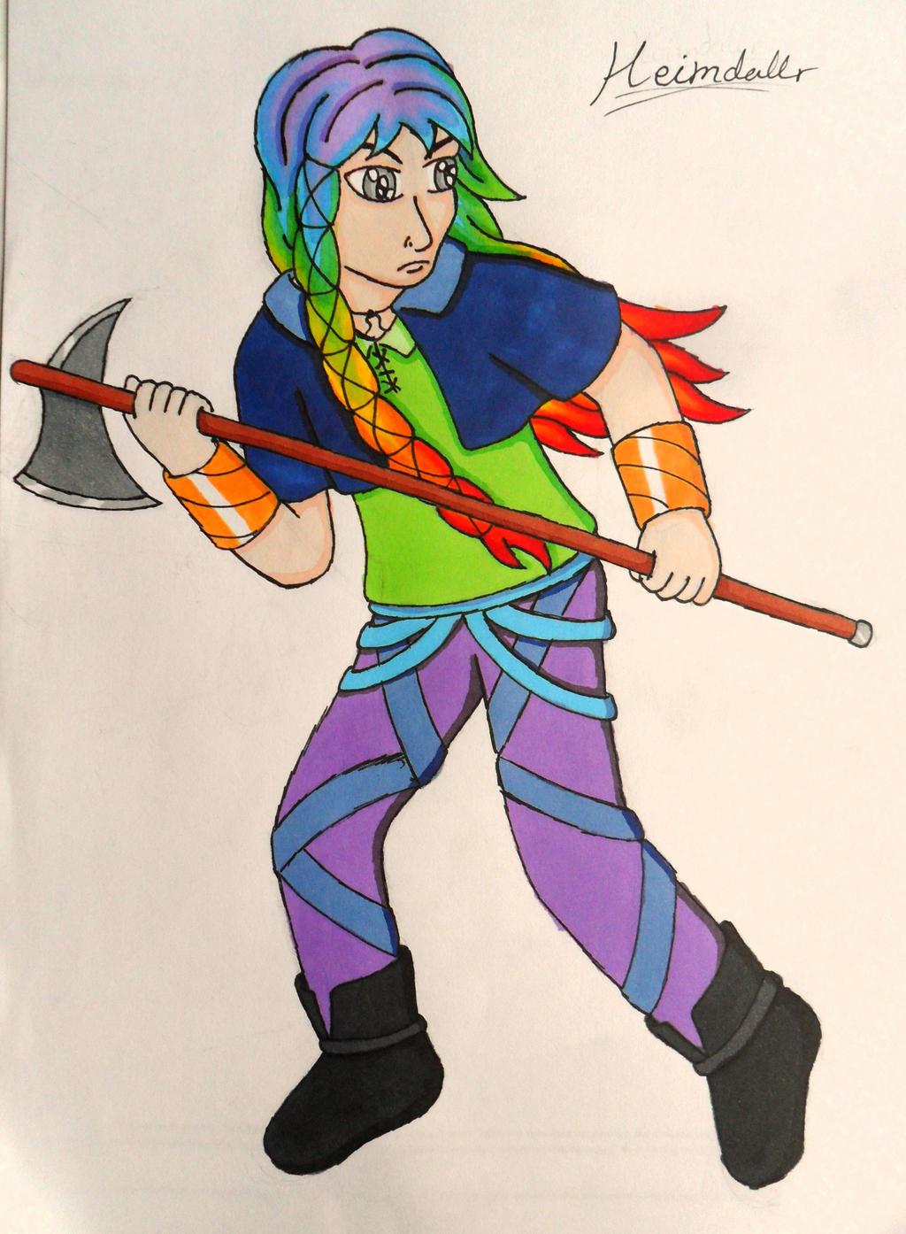 Warrior Heimdall by Iglybo