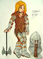 Valkyrie Freyja by Iglybo