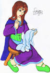 Frigg sewing by Iglybo