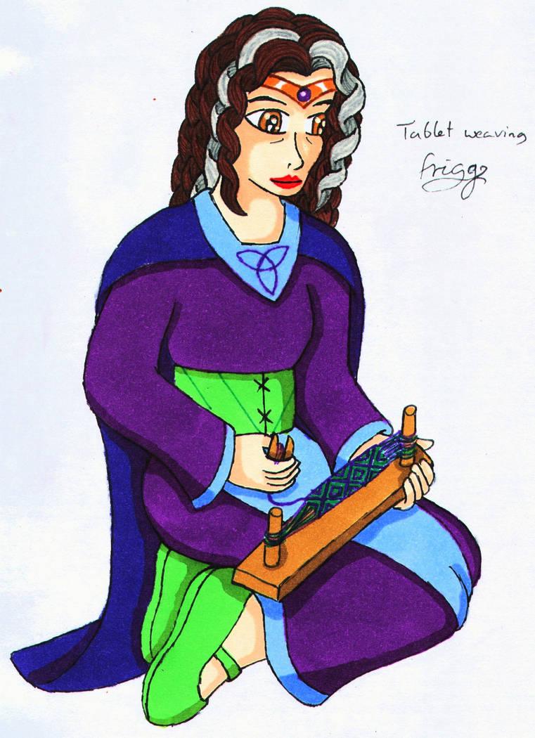 Frigg tablet weaving