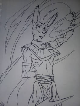 G.O.D Beerus (Inked Only)