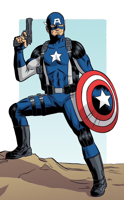 Captain America - PR by robertwilsoniv