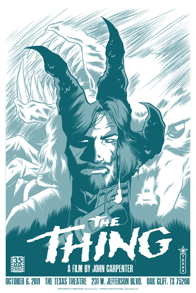 John Carpenter's The Thing by robertwilsoniv