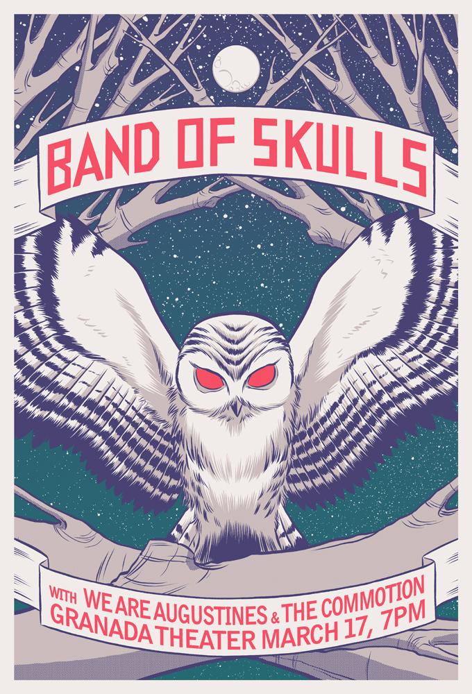 Band of Skulls - Granada by robertwilsoniv