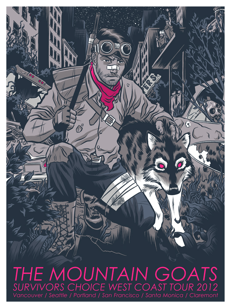 The Mountain Goats Poster 1 by robertwilsoniv