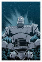 The Iron Giant by robertwilsoniv