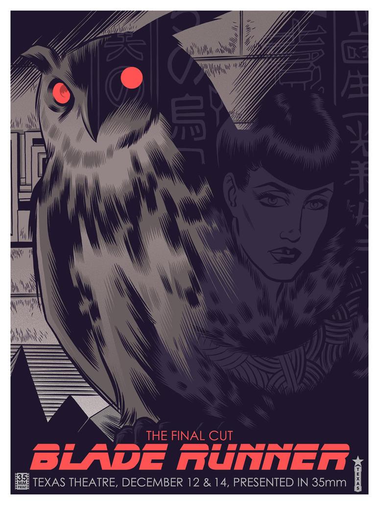 Blade Runner - Texas Theatre by robertwilsoniv