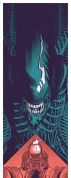 Alien - Texas Theatre by robertwilsoniv