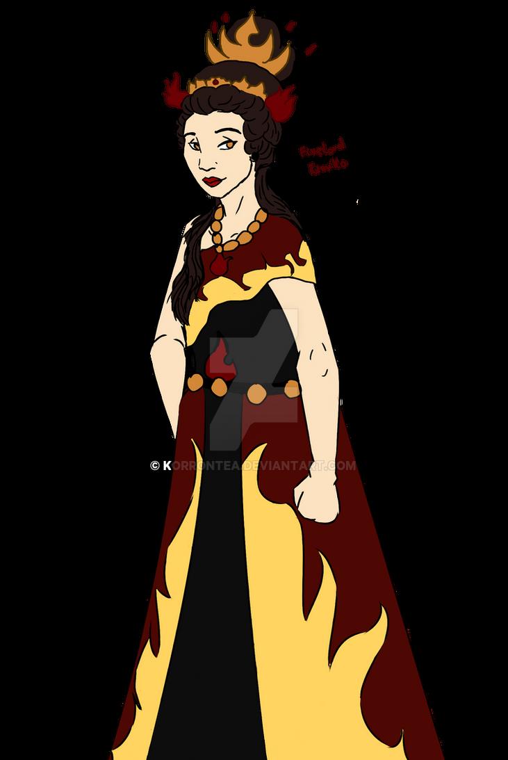Firelord Kimiko by Korrontea