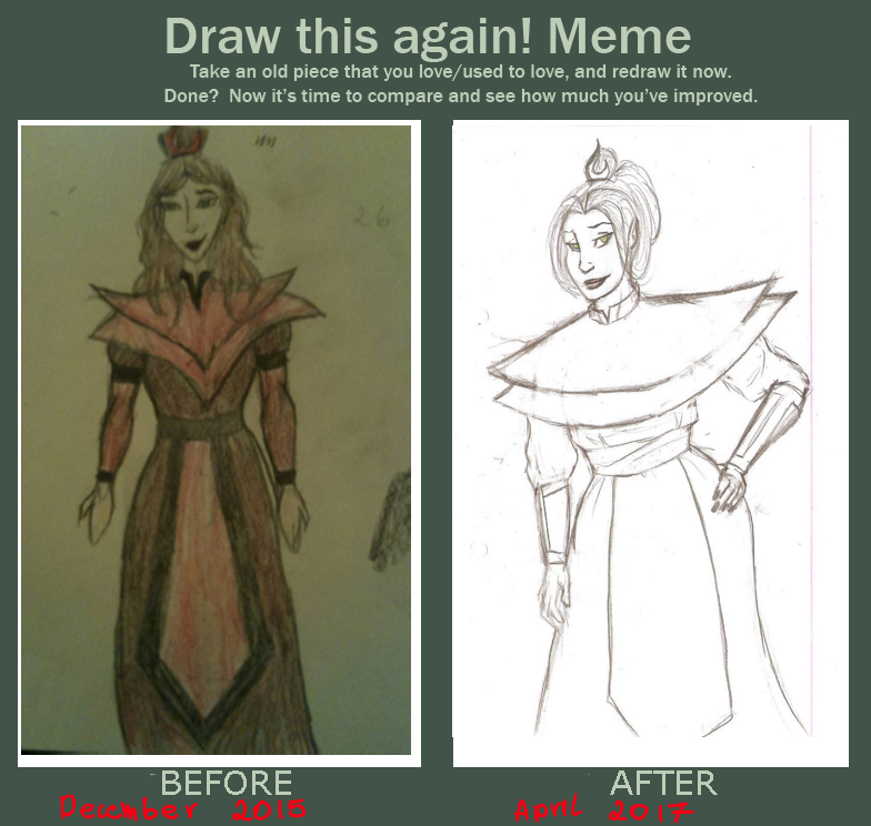 Before and after meme. by Korrontea