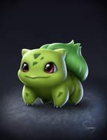 Pokemon- Bulbasaur by SamDelaTorre