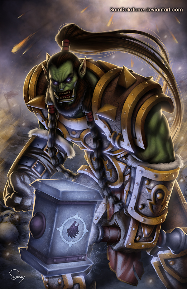 warcraft thrall wow - photo #7