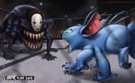 UFC Monster Division: No Face vs Stitch (fight)