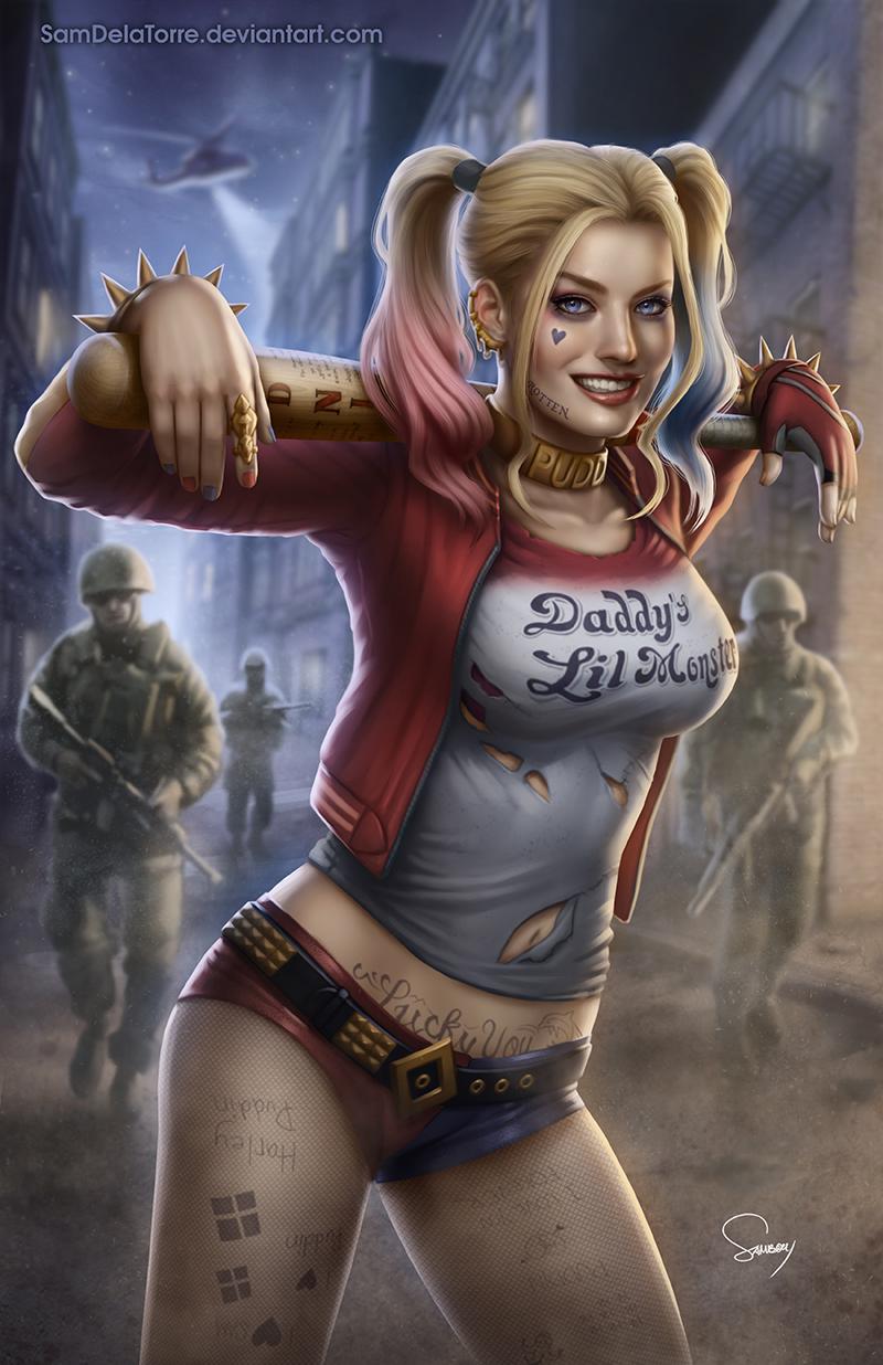 Harley Quinn (Suicide Squad) by SamDelaTorre