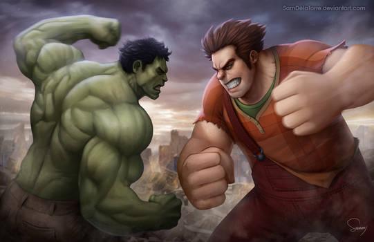 Hulk vs Ralph