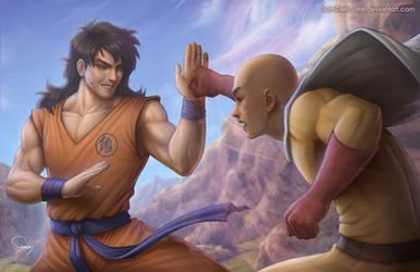 Yamcha vs Saitama by SamDelaTorre