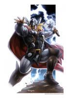 Thor by SamDelaTorre