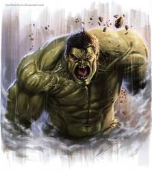 Hulk by SamDelaTorre