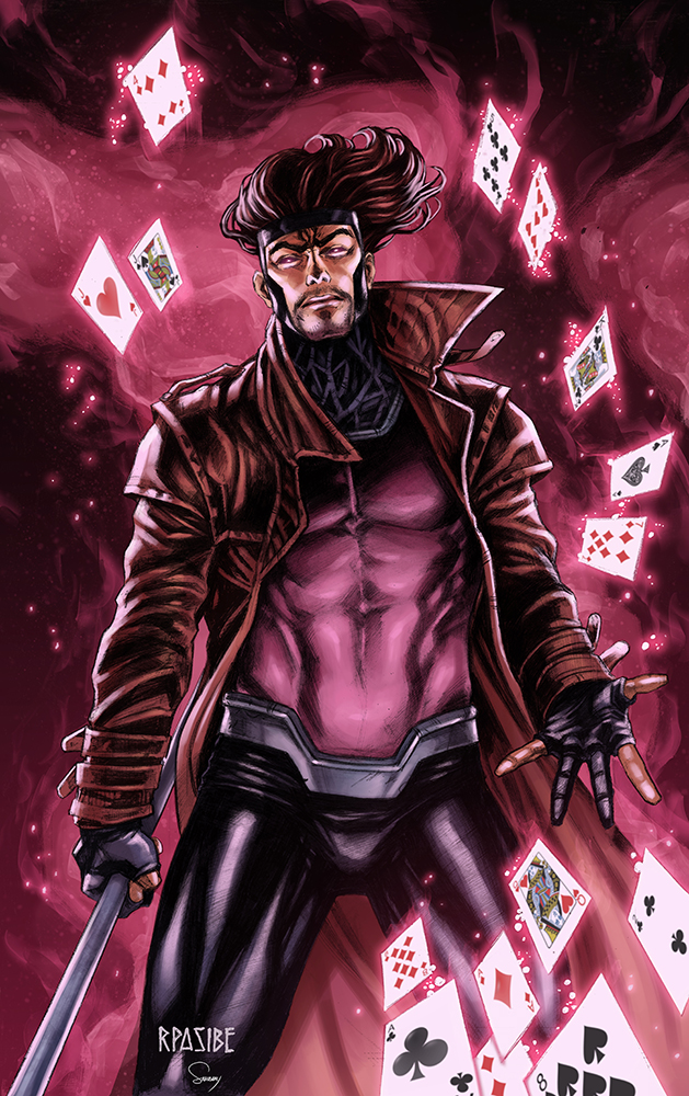 Gambit By SamDelaTorre On DeviantArt