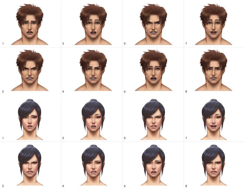 Facial Expression Study 95