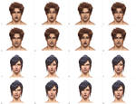 Anatomy Study- Facial Expressions