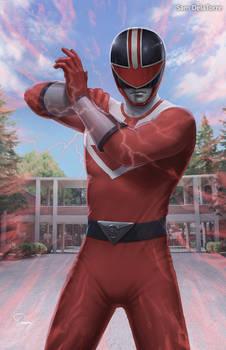 Power Rangers (Time Force) - Red Ranger