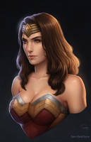 DC Trinity- Wonder Woman (Injustice 2) by SamDelaTorre