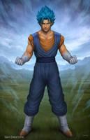 Dragon Ball Super - Vegito Blue by SamDelaTorre