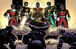 Power Rangers- JDF Universe