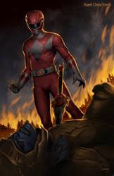 Mighty Morphin Power Rangers - Red by SamDelaTorre