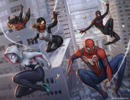 Spiderverse by SamDelaTorre