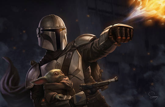 The Mandalorian and the Foundling