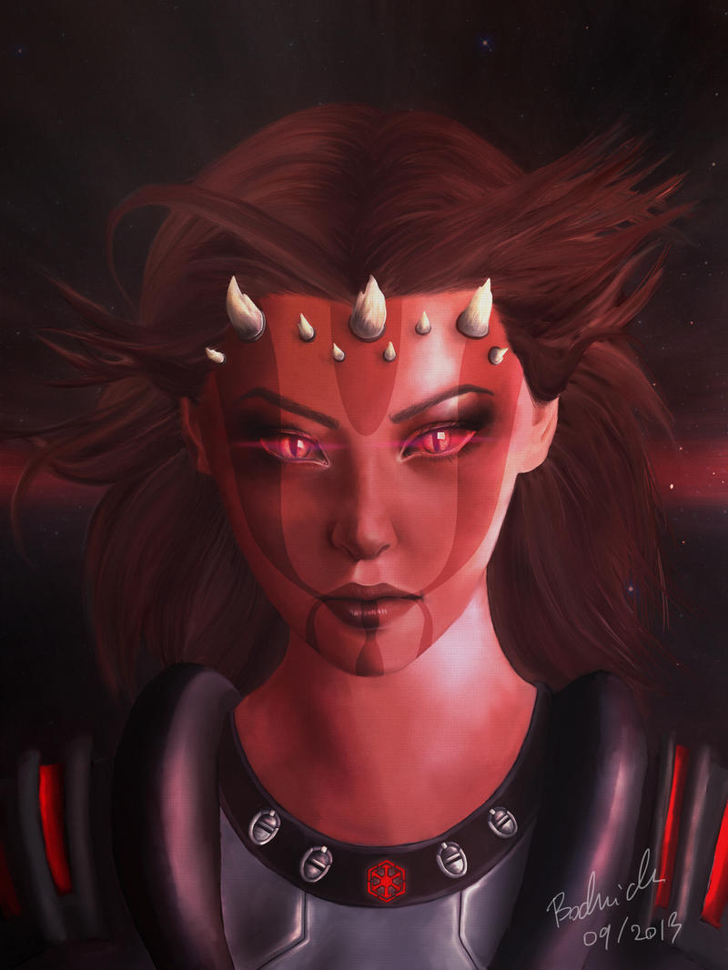 Random female zabrak by agnes90Female Sith Zabrak