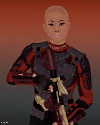 Deadshot Genderbend by Krystal91