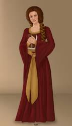 Medieval Hermione Granger by Krystal91