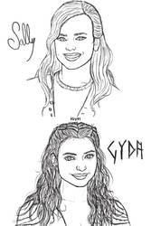 OCs Sketches 2 by Krystal91