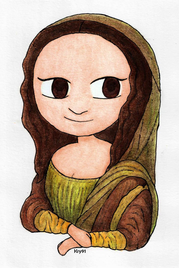 Chibi Mona Lisa by Krystal91