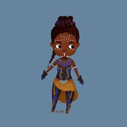 Shuri - Black Panther by Krystal91
