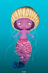 Jellyfish Mermaid by Krystal91