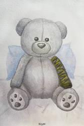 Bubu - Bucky Bear by Krystal91