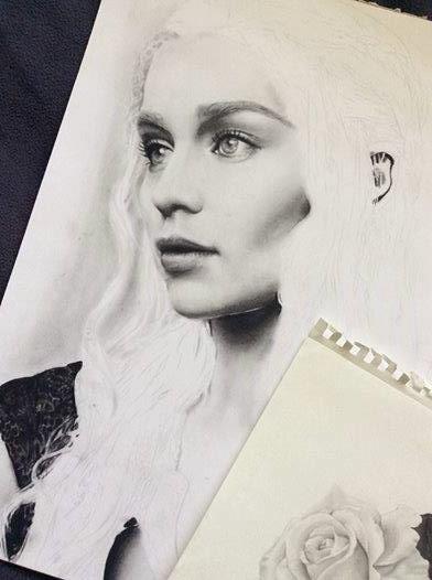 Daenerys Targaryen WIP by mgGaze