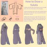 How to Draw a Yukata