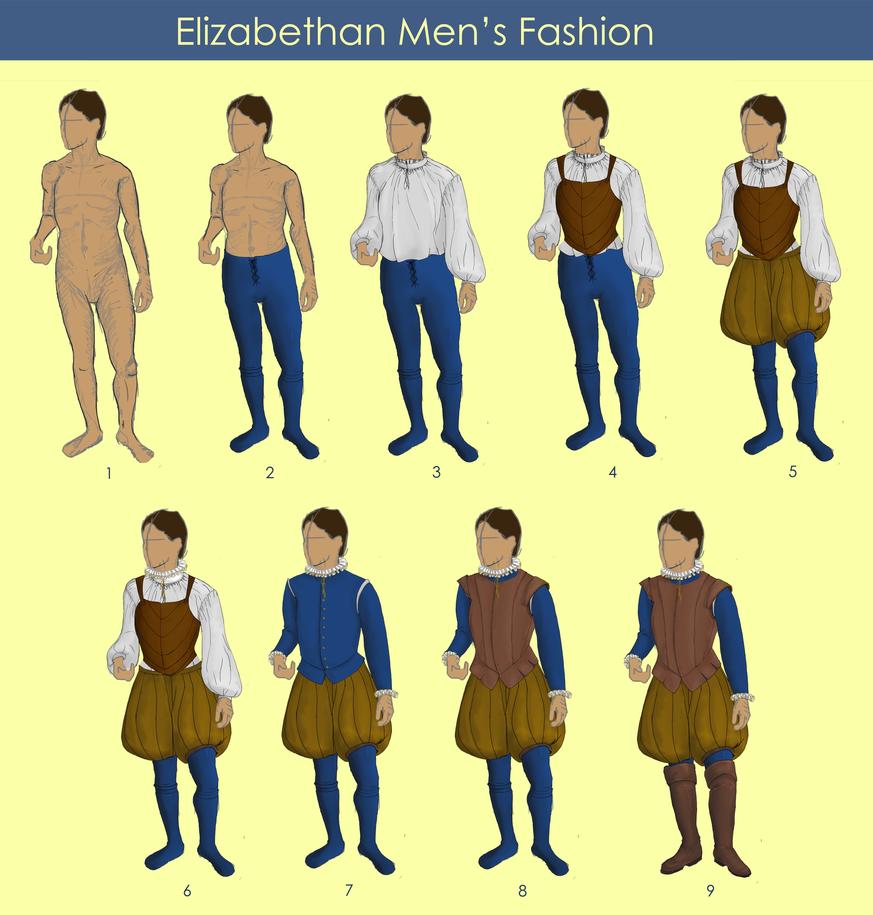 Men S Fashion In Elizabethan Times