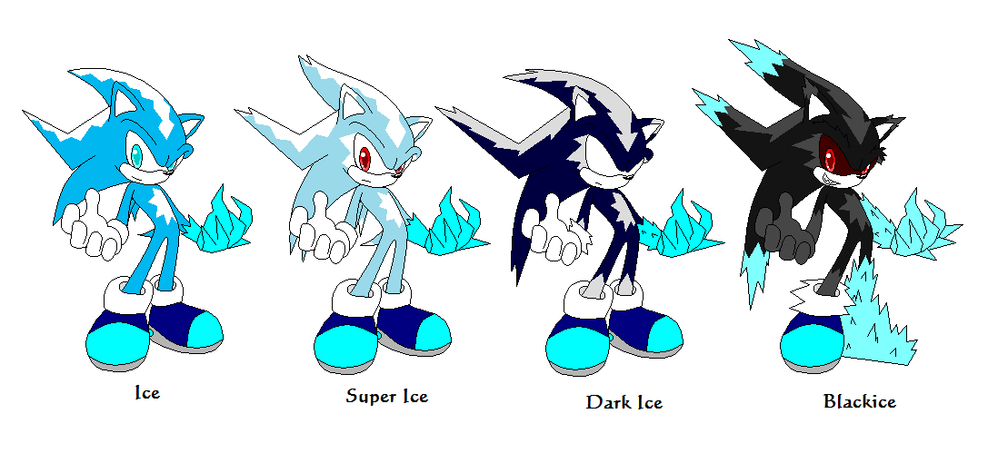ice the hedgehog forms by lozix on deviantart