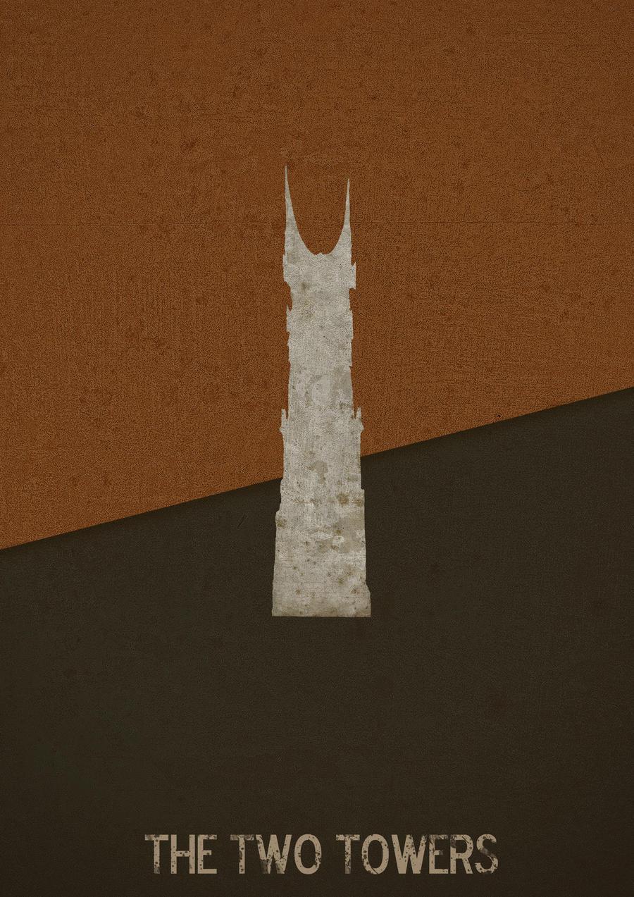 Geek art gallery posters minimalist lord of the rings for Art post minimalisme